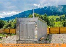 Мобіль енергоефективні сушильні камери GEFEST DKA для сушіння деревини
