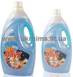 Жидкий стиральный порошок концентрат Onyx 2л. Универсальный. Цветы.