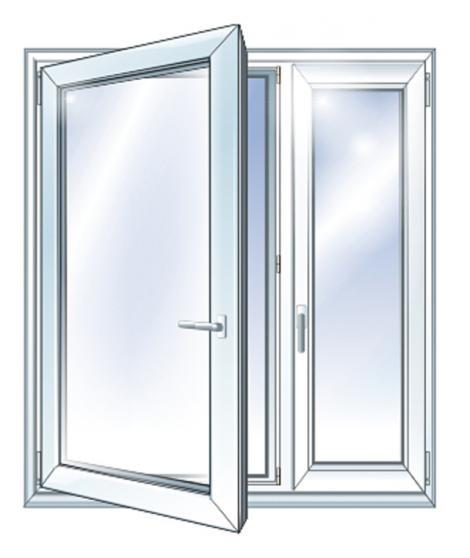 Вікно металопластикове, готове