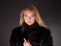 Шуба-жилет со съемным рукавом 3\4 из меха черной лисы, рассрочка 5 месяцев.